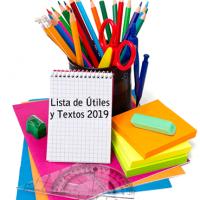 Lista de Útiles y Textos 2019