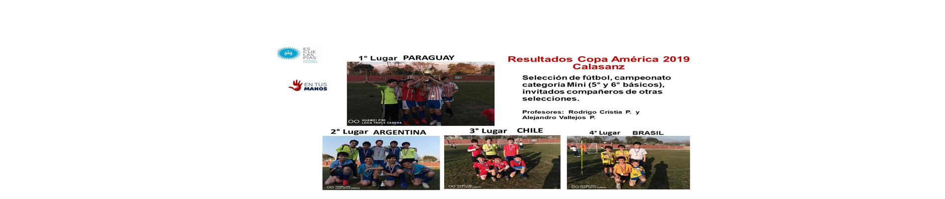 Campeonato Copa América 2019 Calasanz